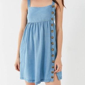 Urban Outfitters Chambray Dress with buttons Large